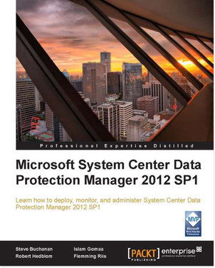Data Protection Manager 2012 SP1 Cover