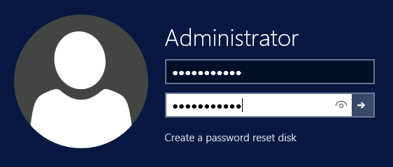 WSTP2-Change Admin Password-ResetDisk