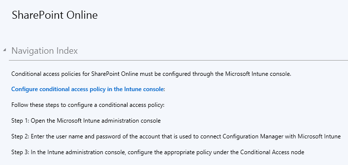 Conditional Access - 02 - SharePoint Online