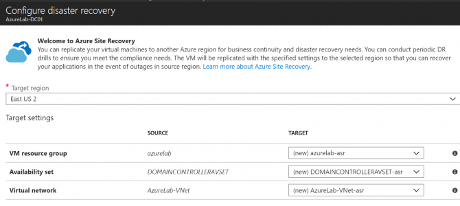 Azure Site Recovery (ASR) Azure-to-Azure (A2A) Goes GA!