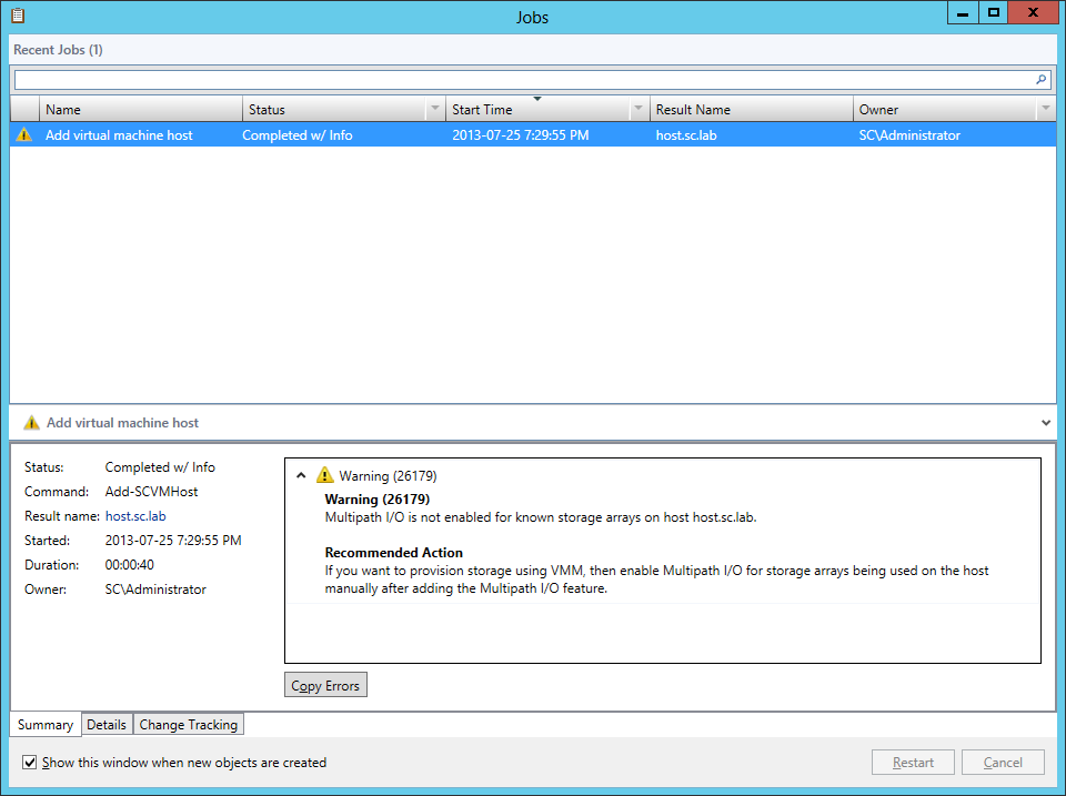 deploy-agent-01 SCVMM 2012 SP1 in a LAB – Configuration Guide (Deploy an Agent to an Existing Hyper-V Host)