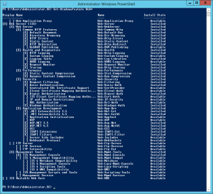 powershell-webserver-installed-features-300x273 PowerShell - WebServer Installed Features
