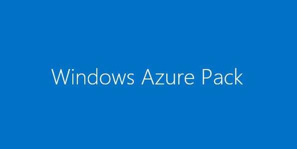 Windows Azure Pack for Windows Server – Part 4: Provision and Configure Services