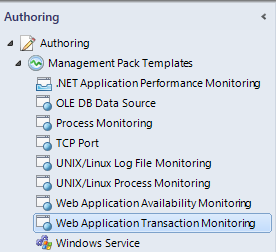 Authoring - Web App Transaction Monitoring
