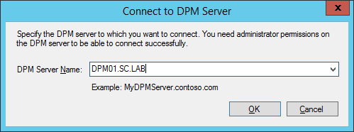 Original Prompt For DPM Console Connection
