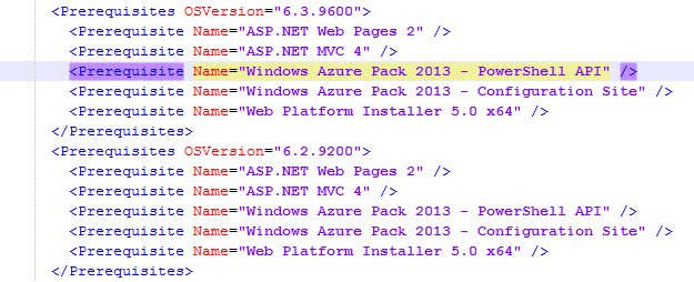 Windows Azure Pack (WAP) - PowerShell Deployment Toolkit (PDT) - Workflow.xml - PowerShell API
