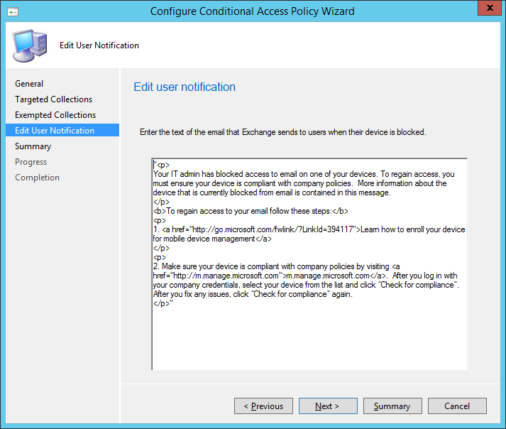 Conditional Access - 06 - User Notification