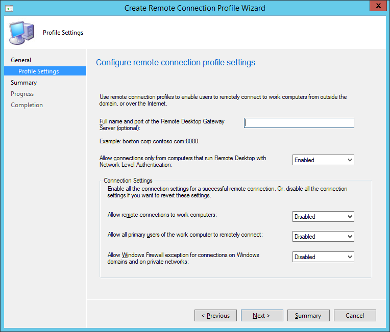 Console-Remote-Connection-Profiles First Look At System Center Configuration Manager 2012 R2 Service Pack 1