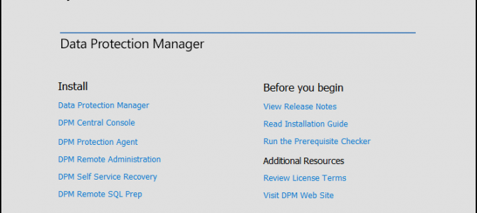 First Look at System Center Data Protection Manager 2016 Technical Preview 2