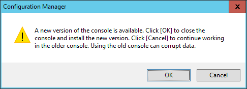 CCM 2016 TP3 U1509 - New Version of Console Prompt