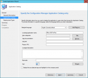 SCCM-Create-Application-Wizard-Application-Catalog-1-300x264 SCCM - Create Application Wizard - Application Catalog