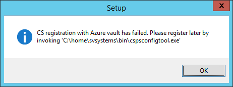 ASR - Configuration Server - Registration Failed