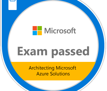 How I Passed the 70-534 Exam