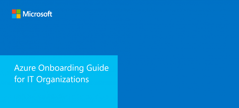 Book Review: Azure Onboarding Guide for IT Organizations