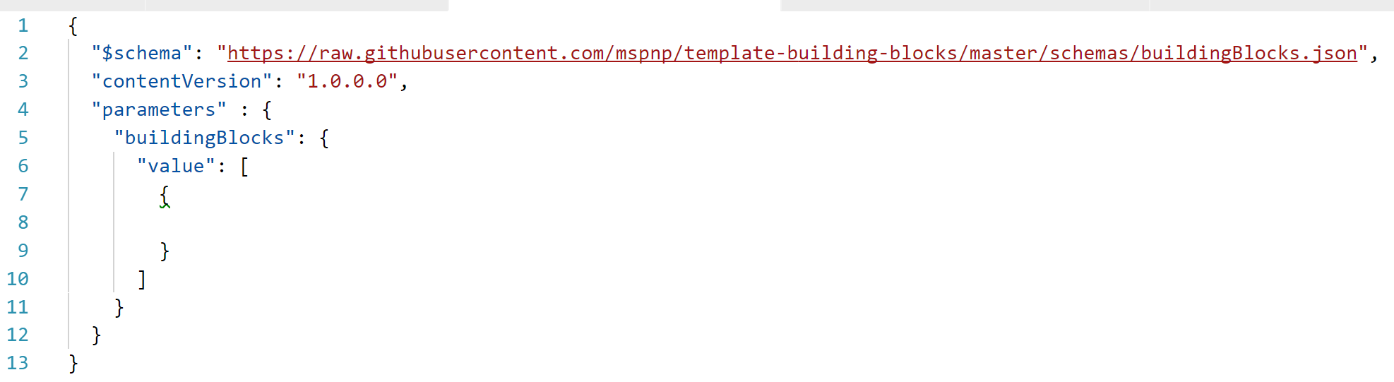 Azure Building Blocks - Blank Template