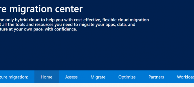 Demystifying Azure Migrations – Part 13 (Migrate): Azure Migration Center
